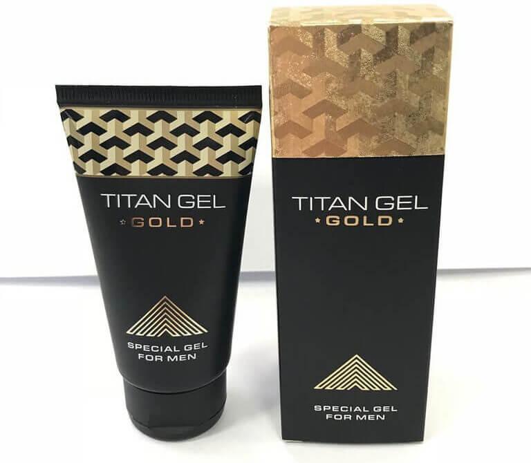Titan Gel Gold di Indonesia — Cara Pemakaian