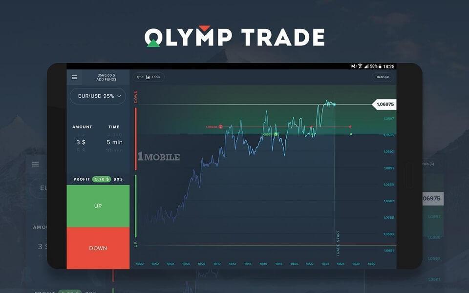 Download Olymp Trade dan Login — beberapa klik