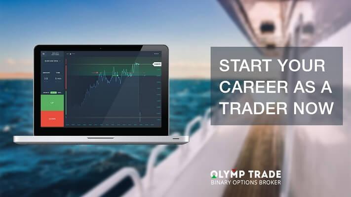 Olymp Trade login — beberapa klik